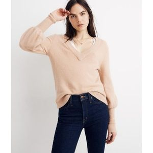 NWT Madewell Dashwood V-Neck Sweater